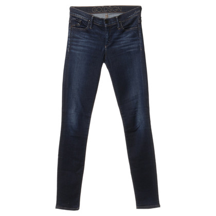 Goldsign Jeans blu scuro