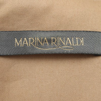 Marina Rinaldi Robe de changement Ocre