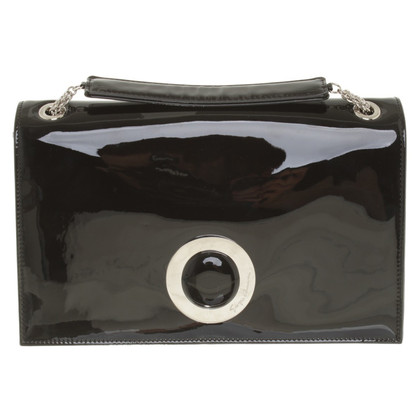 Armani Clutch aus Lackleder