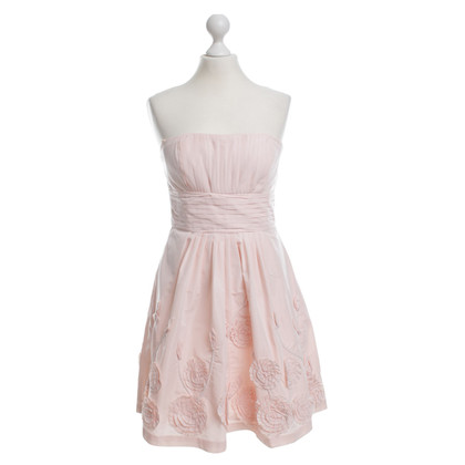 BCBG Max Azria Bustier dress with flowers