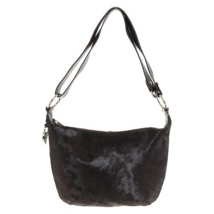 Furla Handbag with fur trim