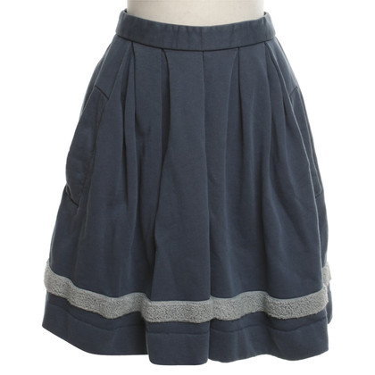 Wood Wood skirt in blue / grey
