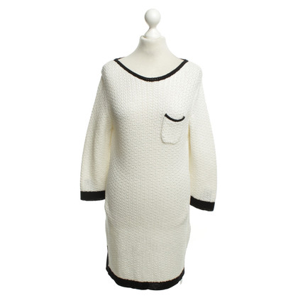 Marc Cain Knitted Dress in Black / White