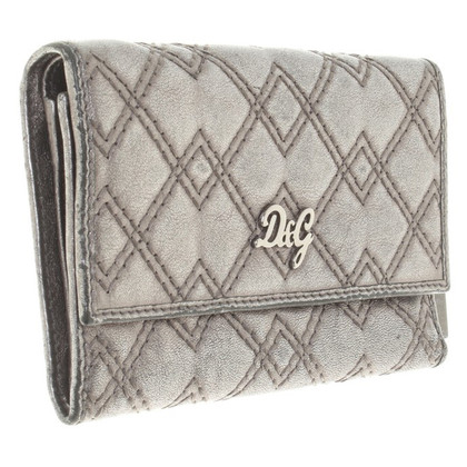D&G Wallet with rhombus quilting