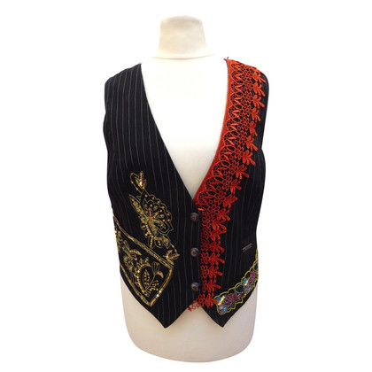 John Galliano Vest with embroidery