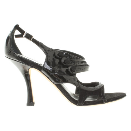 Christian Dior Sandals in zwart