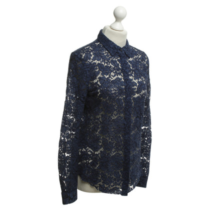 MSGM Lace blouse in blue