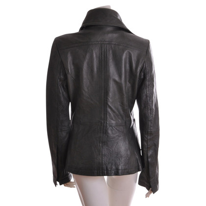 Drykorn Leather Blazer STANLEY