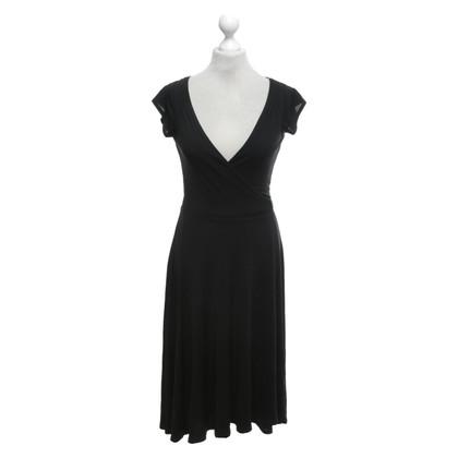 Diane von Furstenberg Wikkel jurk in zwart