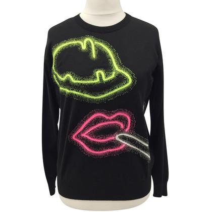 Moschino Pullover in black