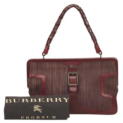 Burberry Burberry Textured Leather Handbag
