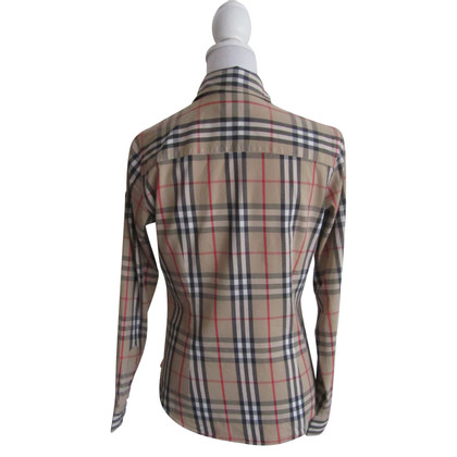 Burberry Checked blouse.