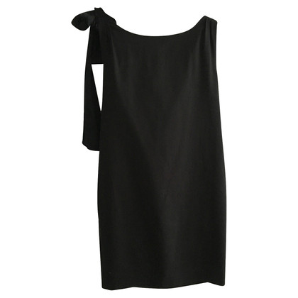 Moschino Cheap and Chic Front Tie Little Black Dress