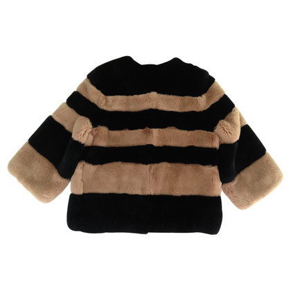 Max Mara Rabbit Fur Coat