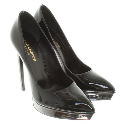 Saint Laurent Stiletto-pumps made of patent leather