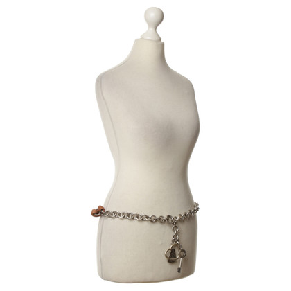 John Galliano Belt with chain necklaces