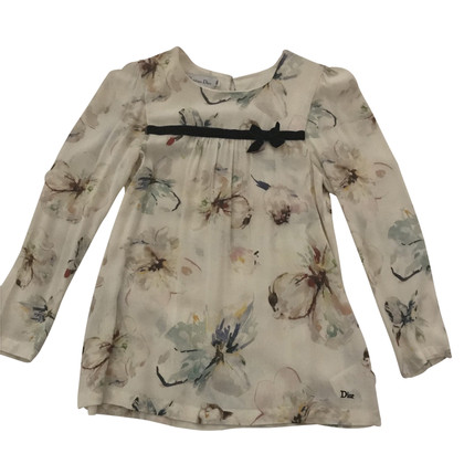 Christian Dior Blouse with floral print