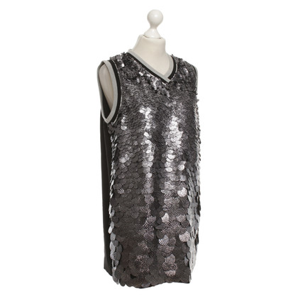 MSGM Dress with sequin trim