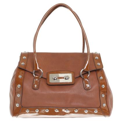 Dolce & Gabbana Borsa in pelle in marrone