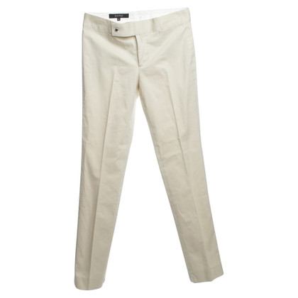 Gucci Bundfaltenhose in Creme