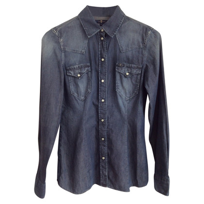 7 For All Mankind camicia di jeans