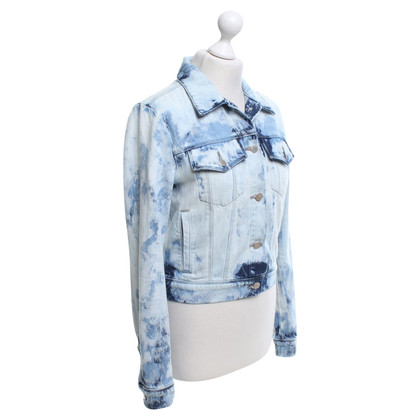 J Brand Jeans jacket with pattern