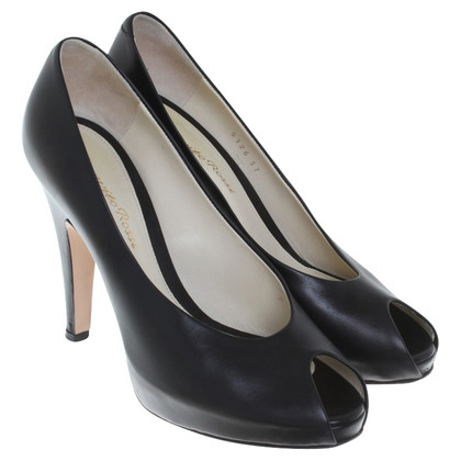 Gianvito Rossi Peep-toes in black