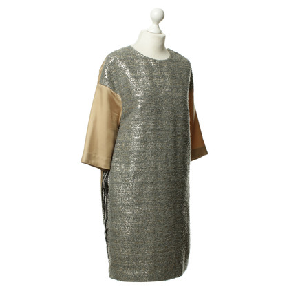 By Malene Birger Kleid mit Material-Mix