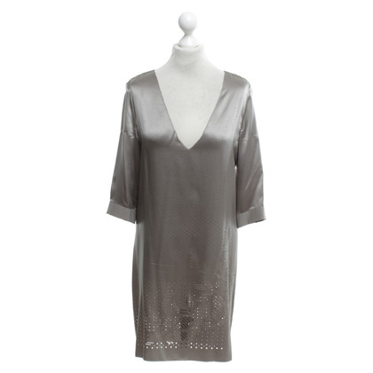 Schumacher Satin dress with lace pattern