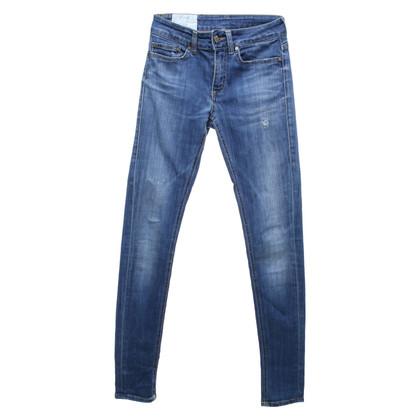Dondup Skinny Jeans nel look usato