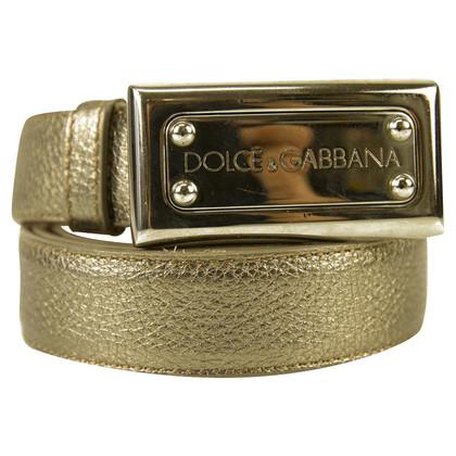 Dolce & Gabbana DOLCE & GABBANA argento cintura TG 36/90