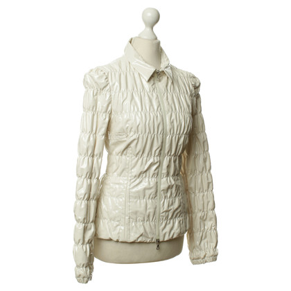 Prada Cream-coloured Quilted Jacket