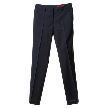 Hugo Boss Crease trousers with pinstripes