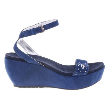 Cesare Paciotti Sandals in blue