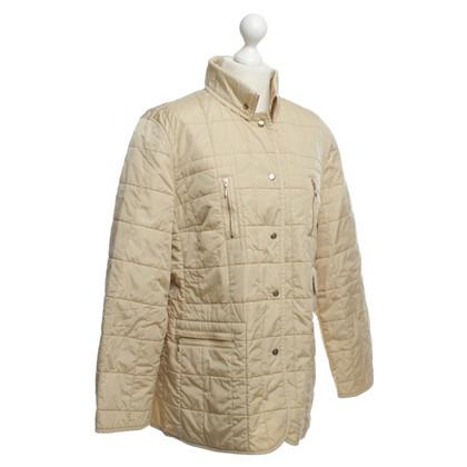 Bogner Quilted Jacket in beige