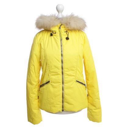 Jet Set Ski jas met echte bont