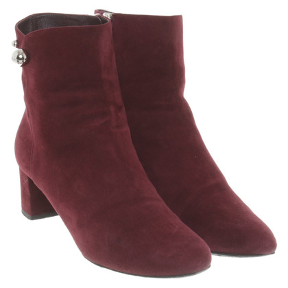 Christian Dior Ankle boots in Bordeaux