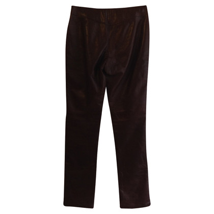 St. Emile Leather pants in Brown
