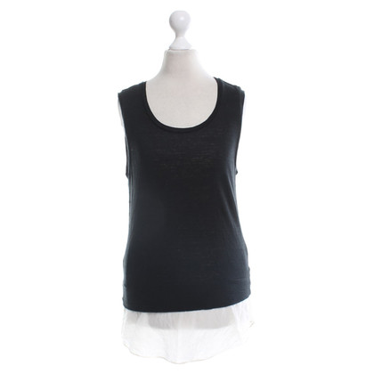 Claudie Pierlot top in black and white