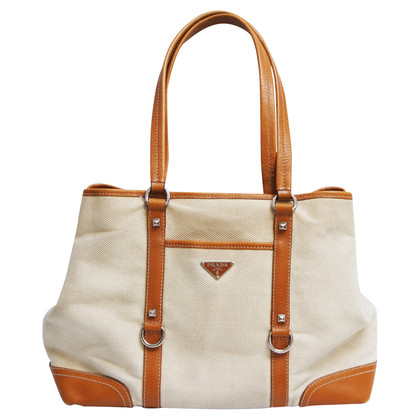 Prada Canvas schoudertas