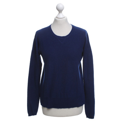 FTC Cashmere sweater in blue