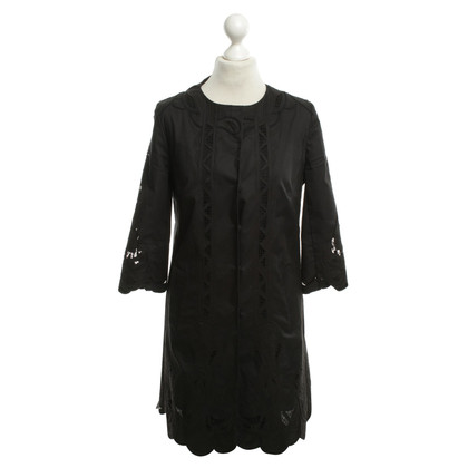 Elie Tahari Shirt Dress in zwart