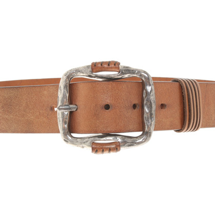 Post & Co Ceinture en look usé