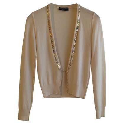 D&G Cardigan with chain decoration