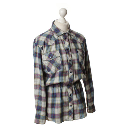 Paul & Joe Getailleerde Flanel blouse