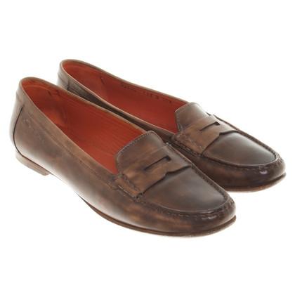 Santoni Loafers in Bruin