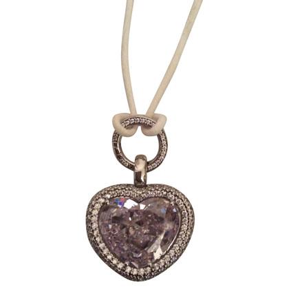 Swarovski Halskette mit Herzanhänger