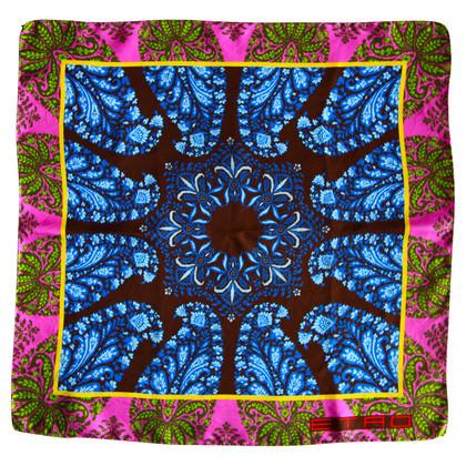 Etro Silk vierkante sjaal
