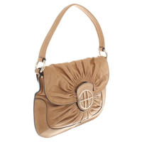 Hugo Boss Leather handbag in ocher