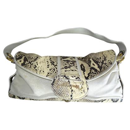 Just Cavalli Handtasche aus Schlangenleder